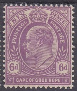 CAPE OF GOOD HOPE 1902 KEVII 6D