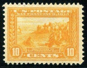 HERRICKSTAMP UNITED STATES Sc.# 400 10¢ Pan Pacific LH Stamp