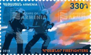 ARMENIA/2019 - Firefighters , MNH
