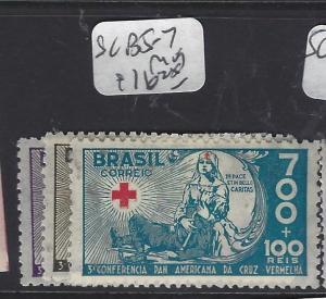 BRAZIL  (PP0412B)    SC B5-7   RED CROSS   MOG
