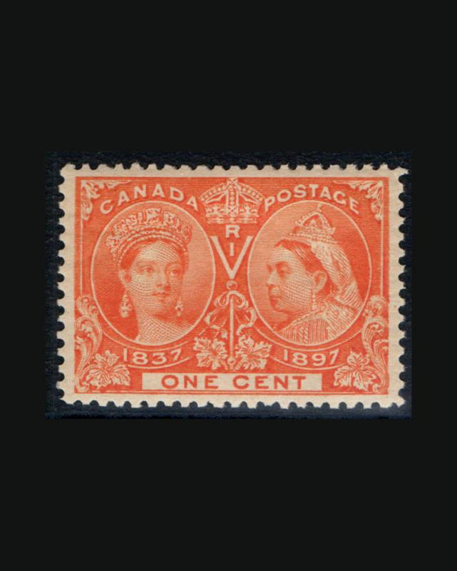 VINTAGE:CANADA- 1897 OGNH FRESH SCOTT #51 $105 LOT #8222Q