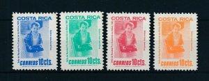 [104166] Costa Rica 1981 Postal tax children's village Christmas toycar  MNH