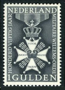 Netherlands 435, MNH.Knight Class IV,Military Order of William,150th anniv.1965