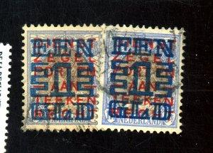 Netherlands #163(2) Used FVF Cat$30