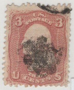#85 Used, Fine Tiny Flaws w/ Crowe Cert., SCV $1100  SEE DETAILS (GP2 11/14/19)