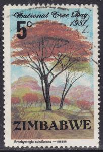 Zimbabwe 442 USED 1981 National Tree Day