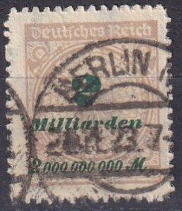 Germany #306 F-VF Used CV $3.50  (V4517)
