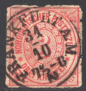 NORTH GERMAN CONFEDERATION SCOTT 21