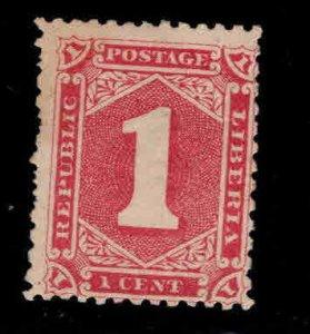 LIBERIA Scott 24a MH* perf 11.5x11