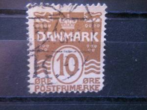 DENMARK, 1930, used 10o, Scott 95
