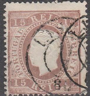 Portugal #38 Used  CV $29.00 (A16430)