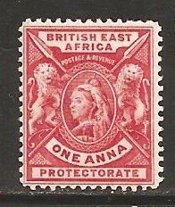 British East Africa SC  73a Mint, Lightly Hinged