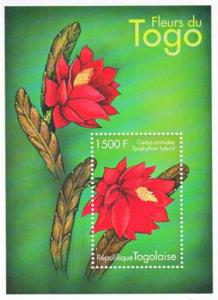 STAMP STATION PERTH Togo #1929 YTBF331 MNH S/S CV$8 Regional Flowers
