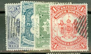 B: North Borneo 31-4 used CV $104