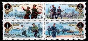 Russia Scott 6926 MNH** 2005 stamp set