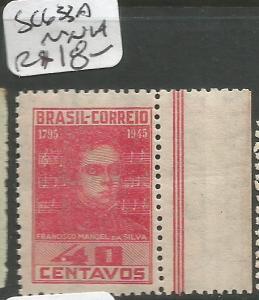 Brazil SC 633a MNH (3cqk)