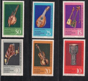 GERMANY - DDR SC# 1330-5 VF MNH 1971