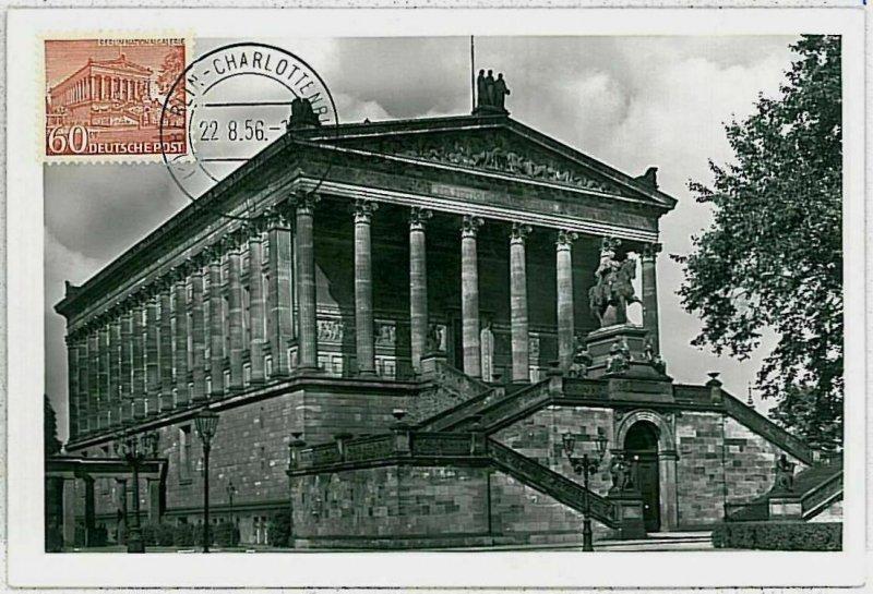 32288 - GERMANY Berlin - POSTAL HISTORY -- MAXIMUM CARD Architecture 1956