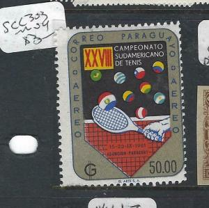 PARAGUAY  (P0206B)  TENNIS  SC 303   MOG