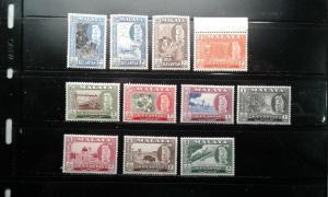 Malaya-Kelantan #72-82 MNH e191.3482