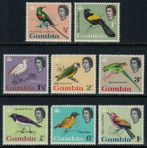 Gambia #175-82* NH  CV $12.60  Birds