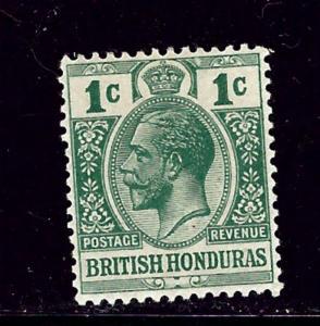 British Honduras 75 MVLH 1913 issue
