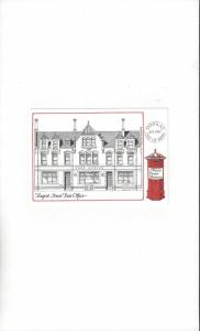 Isle of Man Manx Postal Museum Exhibition Card   Posted