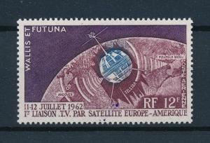 [96939] Wallis et Futuna 1962 Space Travel Weltraum Telstar  MNH