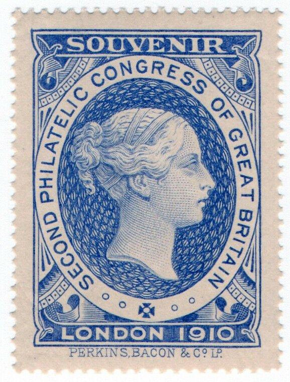 (I.B-CK) Cinderella : 2nd Philatelic Congress (London 1910)