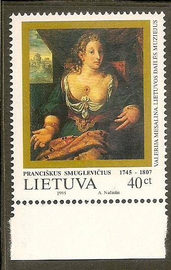 Lithuania   Scott 523      Painting              MNH