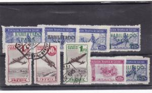 spain fiscal private used stamps   Ref 9835