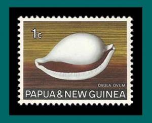 Papua New Guinea 1969 Common Egg Cowrie, MNH  265,SG137