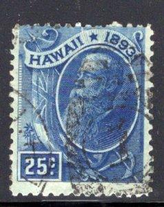 Hawaii #79, postally used, CV$17.50