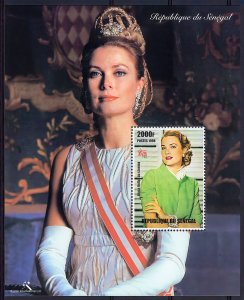Senegal 1998  YT# 46 Princess Grace de Monaco Souvenir Sheet (1) MNH