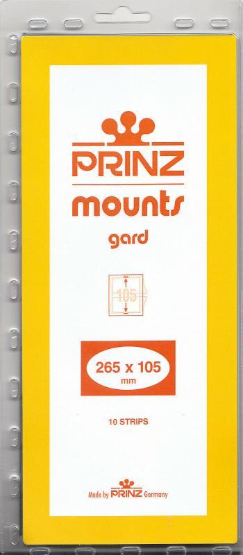 PRINZ CLEAR MOUNTS 265X105 (10) RETAIL PRICE $13.00