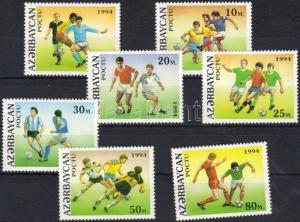 Azerbaijan stamp Football world cup set MNH 1994 Mi 140-146 WS21471