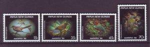 J21857 Jlstamp 1986 png set mnh #645-8 birds