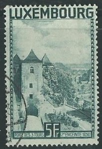1934 Luxembourg Scott Catalog Number 198 Used