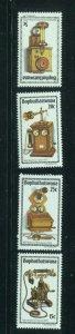 Bophuthatswana MNH 76-9 Antique Telephones