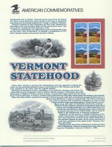 Vermont Statehood, Set 4*