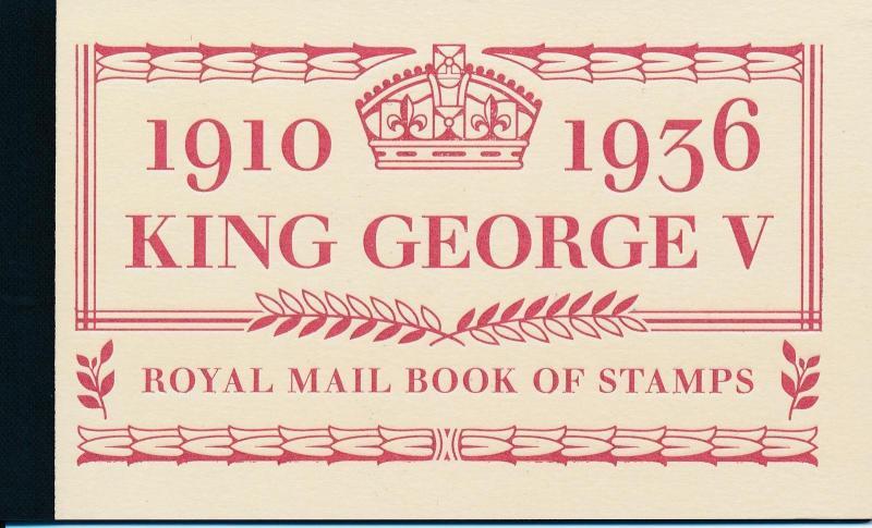 [23028] Great Britain 2010 Prestige booklet King George V DX50