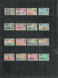 Antigua Sc#167-182 M/NH/VF, Cv. $36.10
