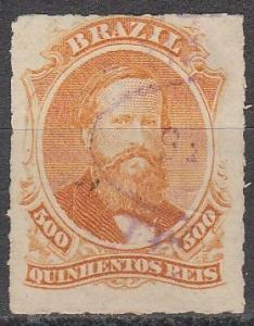 Brazil #67  F-VF  Used CV $42.50 (A16345)