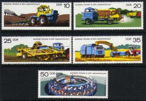 DDR #1829-1833 MNH CV$2.40