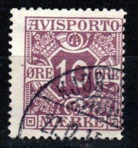 Denmark #P15 F-VF Used CV $3.00 (X9650)