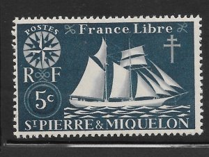 Saint Pierre and Miquelon Mint Never Hinged [4154]