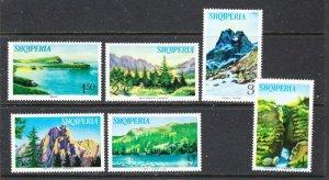 Albania 801-06 MNH 1965 Views (ha1023)