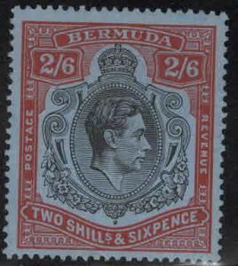 BERMUDA Scott 124a MH* perf 14 stamp CV $26