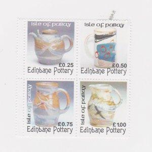 PABAY, British Local - 2004 - Edinbane Pottery - Perf MNH 4v Set