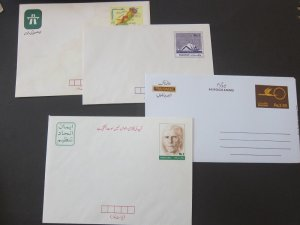 Pakistan 4 Pre-stamp covers